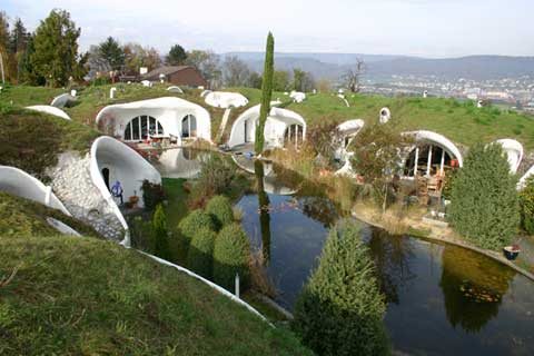 earth houses