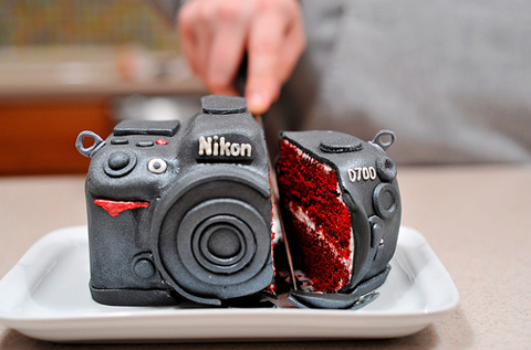 A Wife's Birthday Cake – Nikon D700