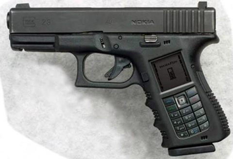 Nokia Gun Mobile Phone