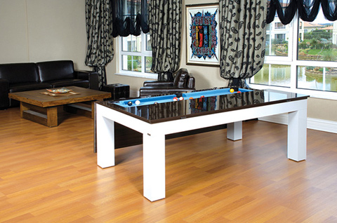 dining table billiard table dining table combination. Black Bedroom Furniture Sets. Home Design Ideas