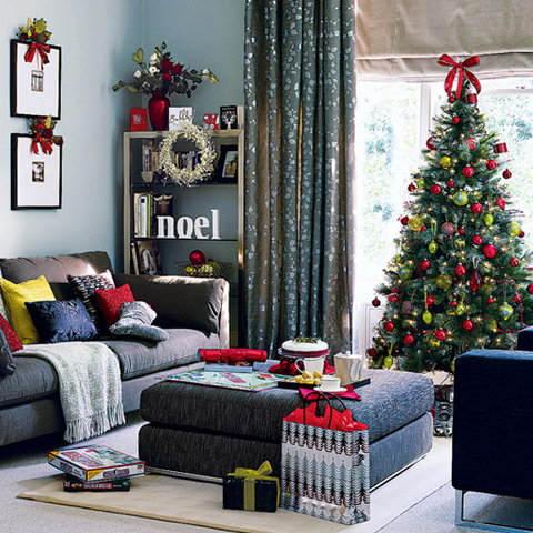 Mordern Christmas Tree Decorating Ideas For Your Home(1