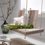 Wooden Indoor Swing Bench