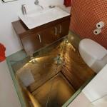 Scary Bottomless Bathroom