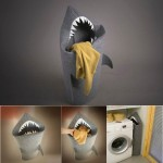 A Hungry Pointy-toothed Shark Laundry Basket