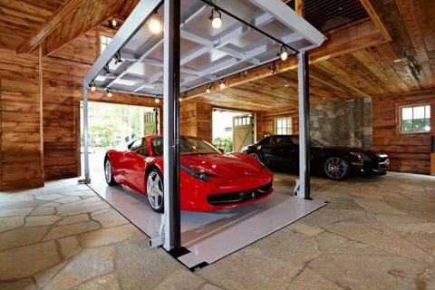 High Tech Garage Extraordinary Of Man Cave Garage Image