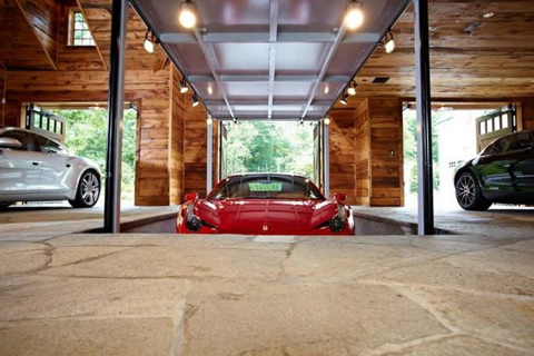 High Tech Garage Gorgeous Of Awesome Man Caves Car Garages Image