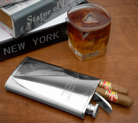 Stainless-Steel-Cigar-Flask