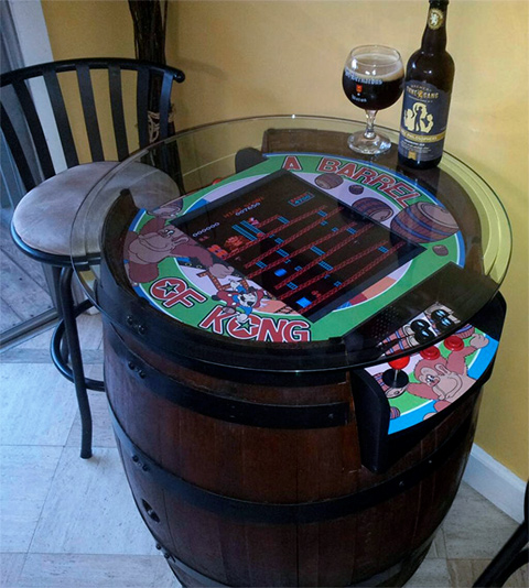 Donkey-Kong-Barrel-Tabletop-Arcade-1