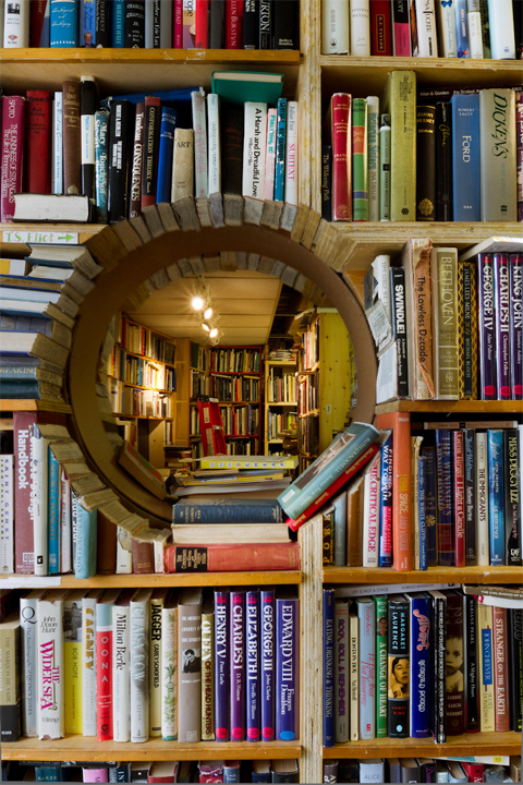 Porthole-Made-Of-Books