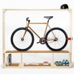 Shelf for Books, Shoes and a Bike