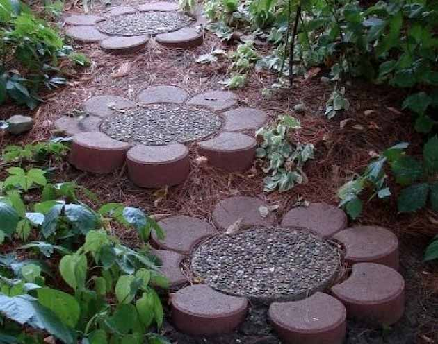 Garden Design Diy Ideas : Lovely diy garden pathway ideas