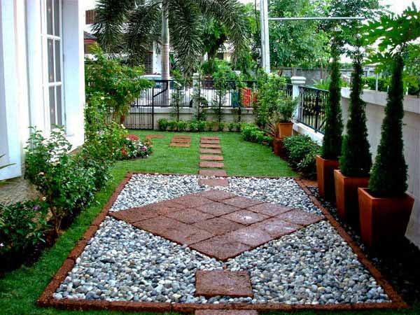 25 Lovely DIY Garden Pathway Ideas 09