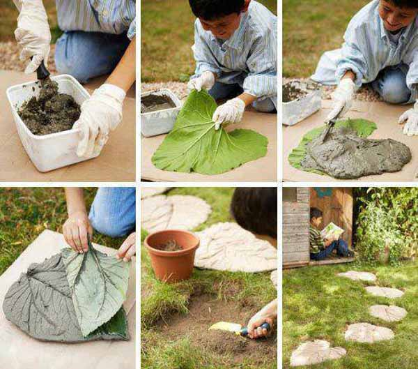 Diy Garden Path Ideas 25 lovely diy garden pathway ideas