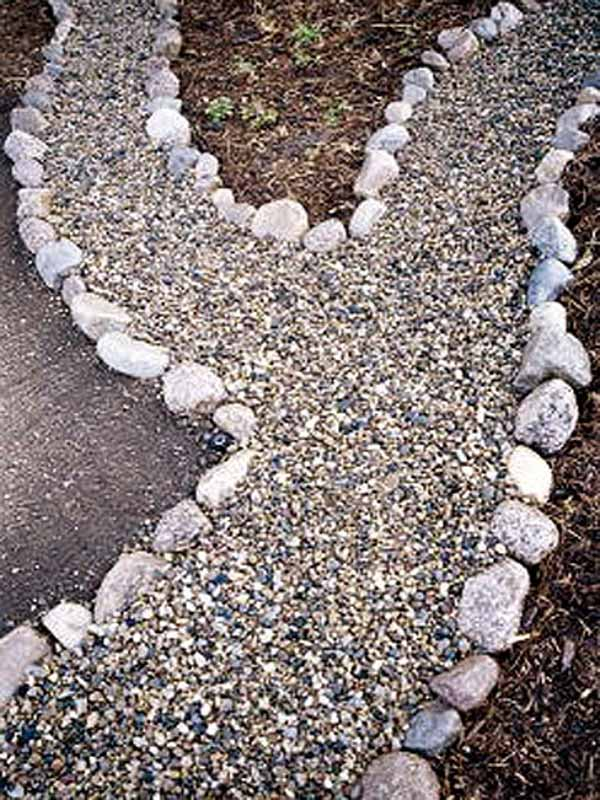 Stone Garden Path Ideas 55 inspiring pathway ideas for a beautiful home garden 25 Lovely Diy Garden Pathway Ideas 19