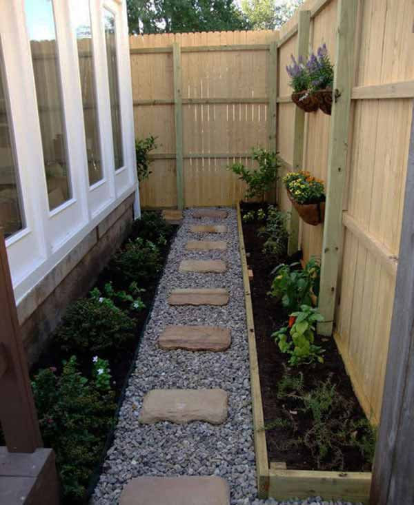 25 Lovely DIY Garden Pathway Ideas 20