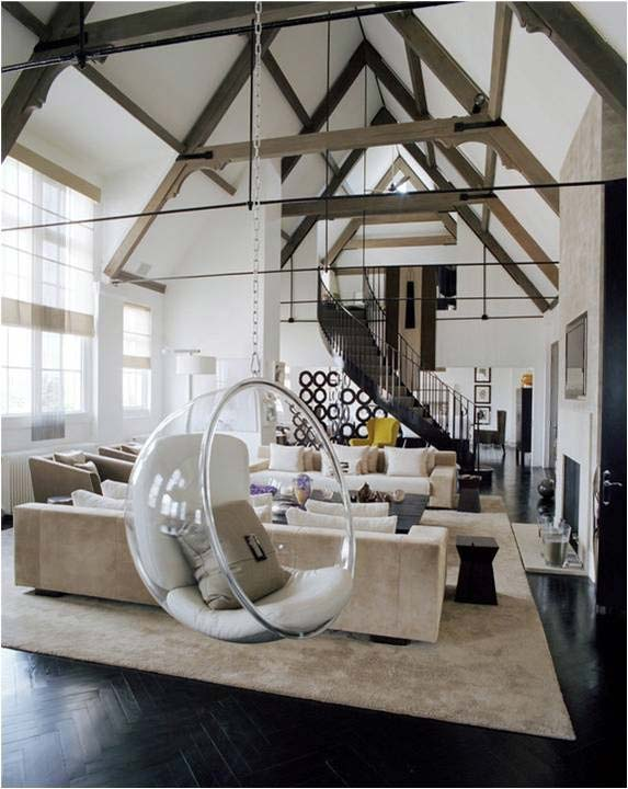 ... Indoor Swing, Via WooHome