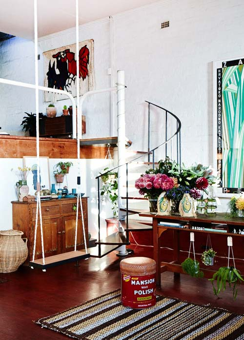 25 Examples Of Indoor Swings Turn Your Home Into A Playground For All Ages