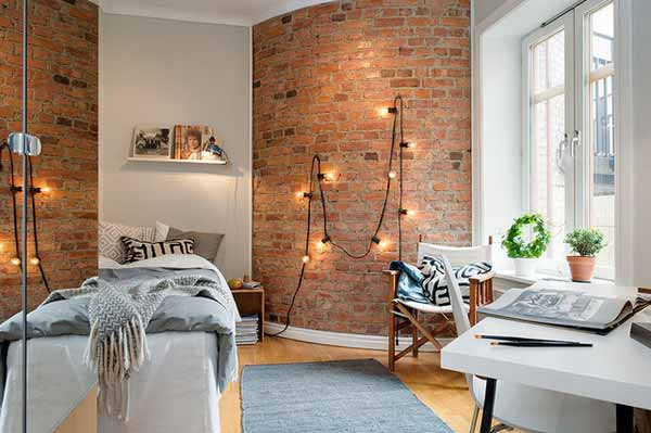 35 Ideas   Give Your Home A Rustic Or Industrial Touch With Brick .