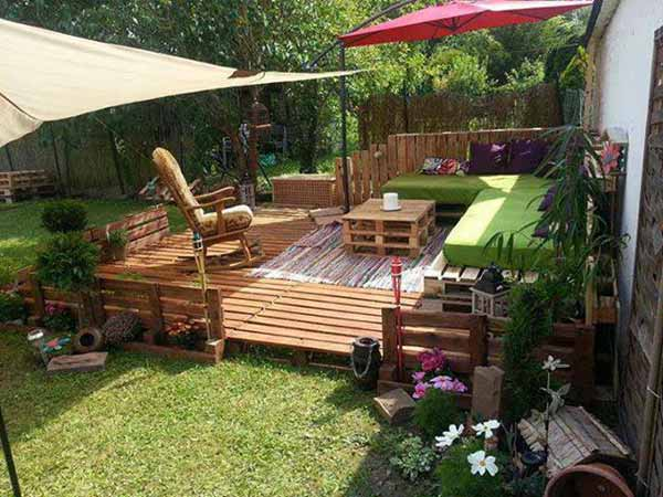40 fantastic ways of how to reuse old wooden pallets for What can you make with recycled pallets