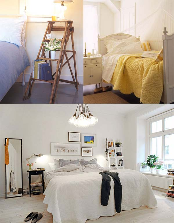 28 Unusual Bedside Table Ideas Enhance The Charm And Decor Of Your ...