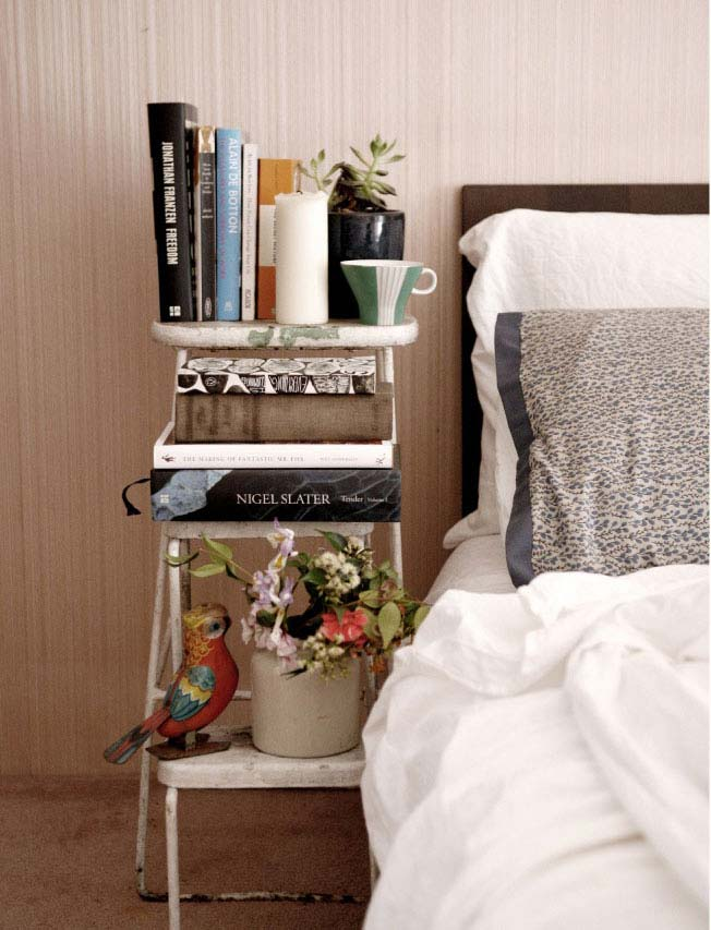 Superb Bedside Table Ideas Part - 2: Usually-bedside-table-26