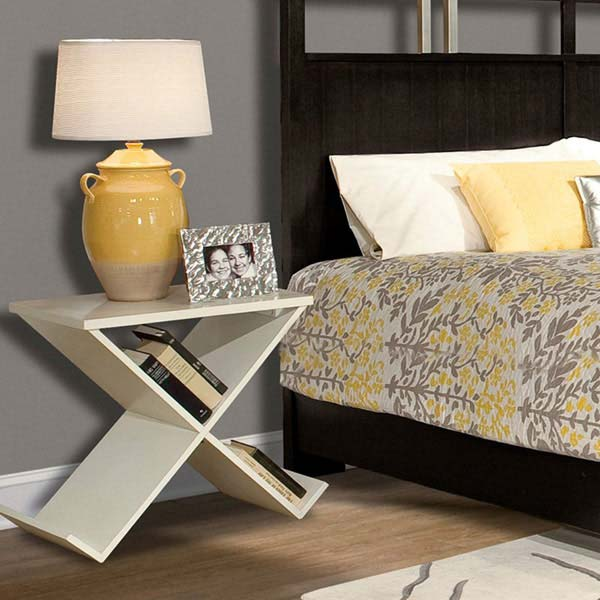 28 unusual bedside table ideas enhance the charm and decor for Creative nightstand ideas