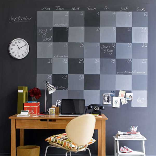 Chalkboard Paint Ideas Allow You To Personalize Wall Decor
