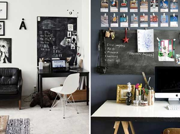 20 Chalkboard Paint Ideas To Transform Your Home Office: 22 Chalkboard Paint Ideas Allow You To Personalize Wall Decor