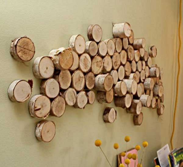 DIY-Log-Wall-Art