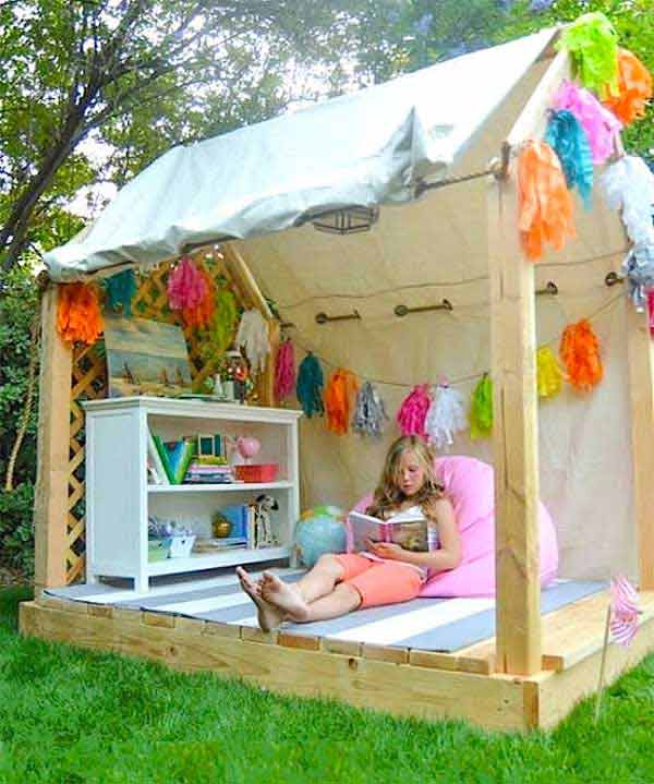 backyard playhouse design