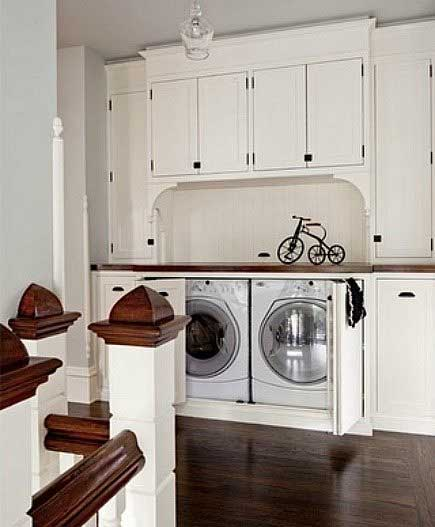 25 ideas to hide a laundry room - amazing diy, interior & home design