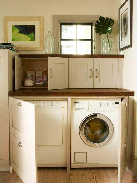 Ideas To Hide A Laundry Room 12