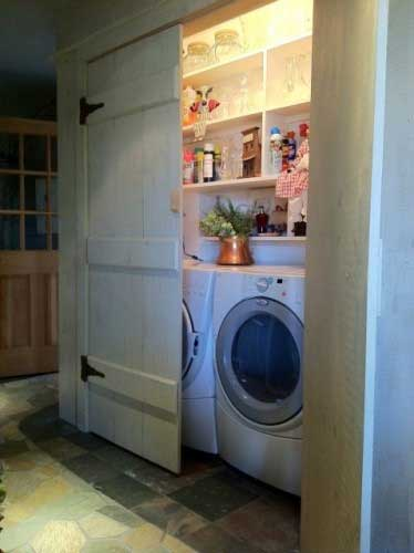 25 Ideas To Hide A Laundry Room