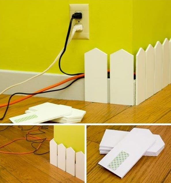 Do It Yourself Home Design: 20 Creative DIY Ideas To Hide The Wires In The Wall Room