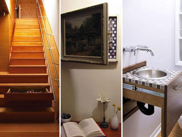 20 Top Secret Spots For Hidden Storage