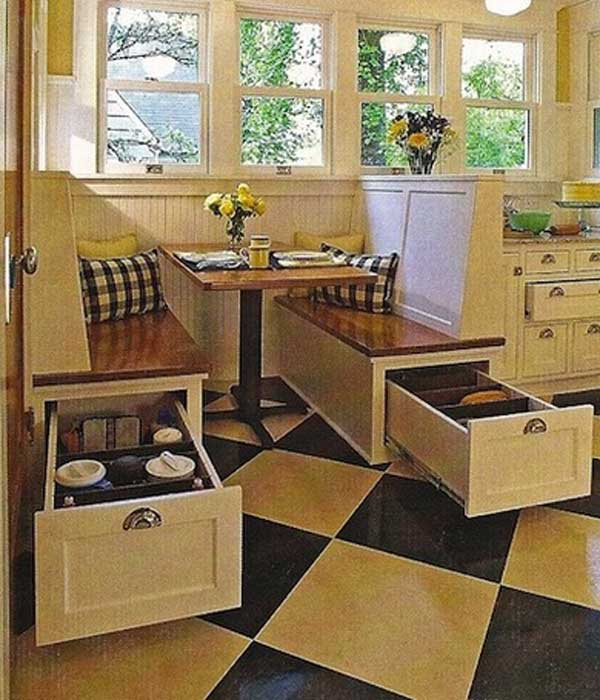 Home Storage Ideas Beauteous 20 Top Secret Spots For Hidden Storage Around Your House  Amazing Inspiration