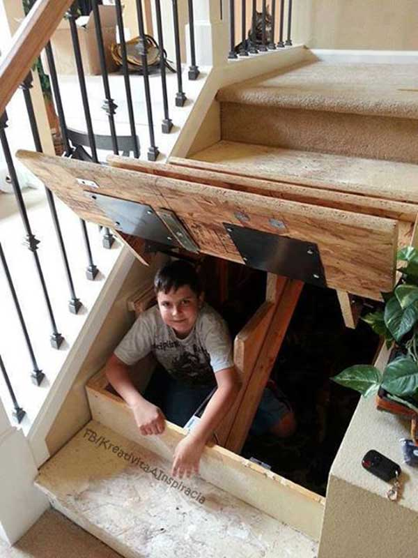 20 Top Secret Spots For Hidden Storage Around Your House Amazing
