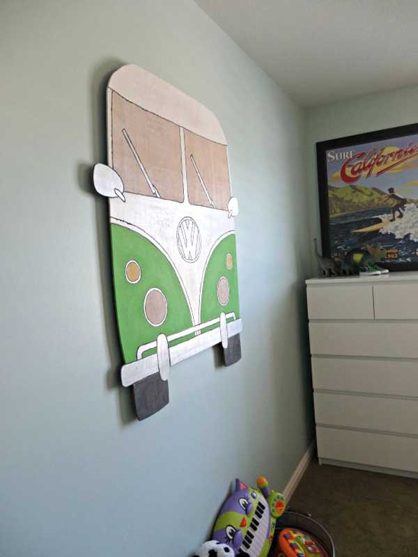 VW-Bus-wall-decor