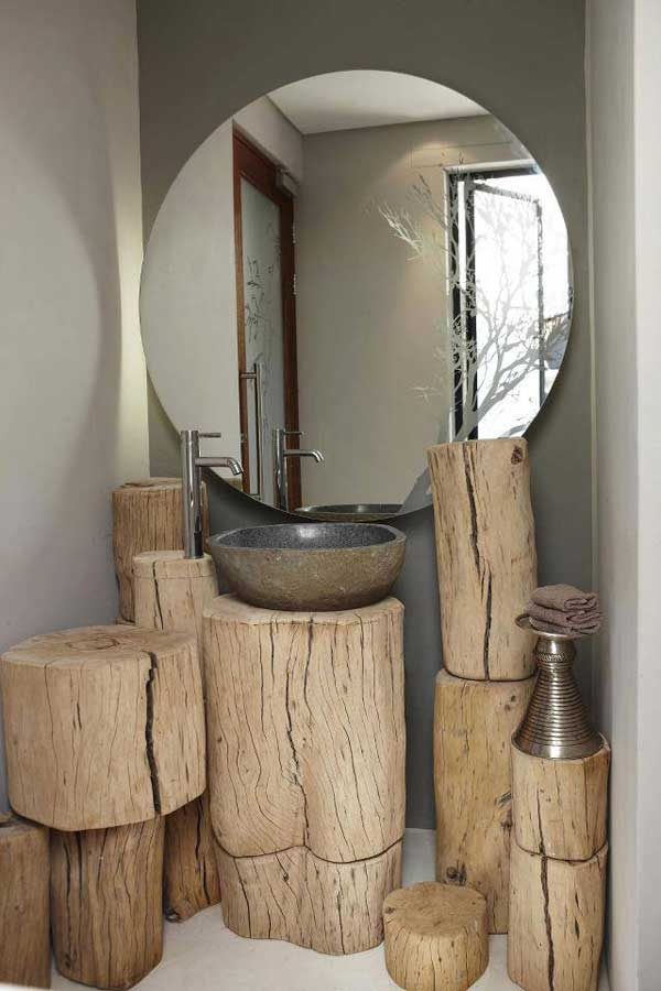 40 DIY Log Ideas Take Rustic Decor To Your Home | WooHome
