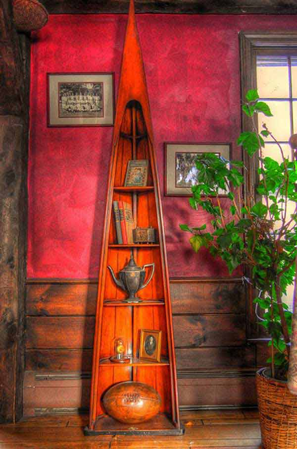 canoe-shelf