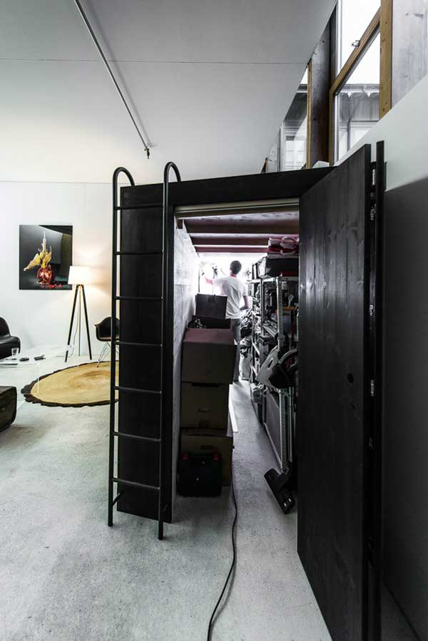 Living Cube Concept Innovative Storage Facility For