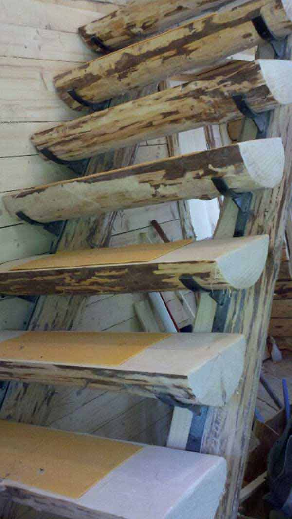 log-staircase