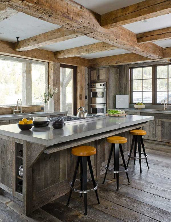 Rustic Ski Retreat Comes With Modern Interior | WooHome