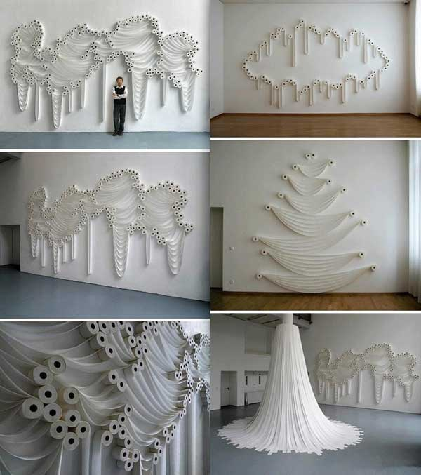 30 Homemade Toilet Paper Roll Art Ideas For Your Wall Decor Amazing Diy Interior Home Design