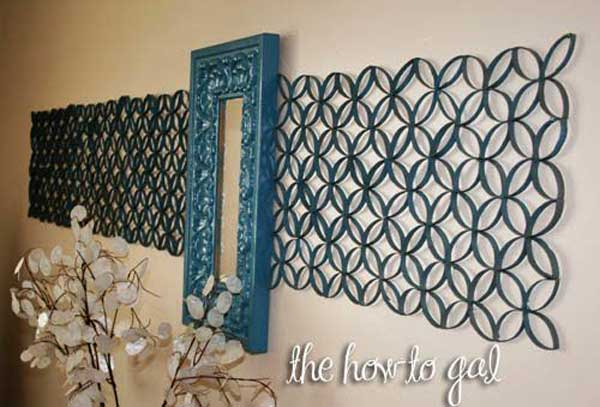 30 homemade toilet paper roll art ideas for your wall decor for Painting toilet paper rolls