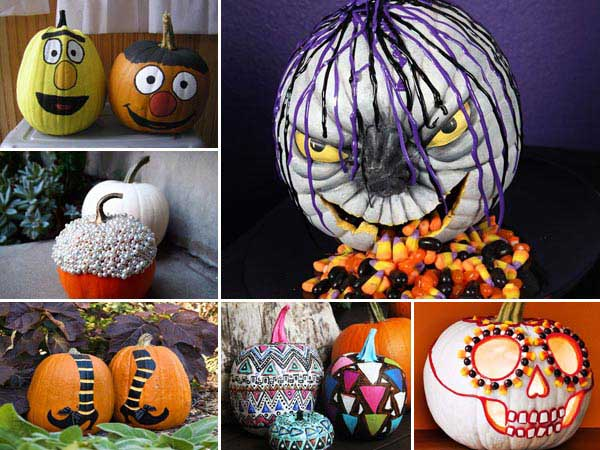 39 Whacky Weird DIY Ideas for Pumpkin Design