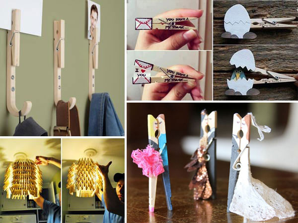 Top 35 Creative Decorating DIYs Can Make With Clothespins