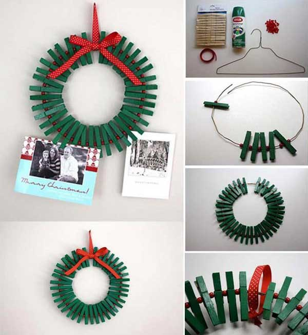 Lovely Clothespin Crafts Christmas Part - 13: DIYs-Can-Make-With-Clothespins-25
