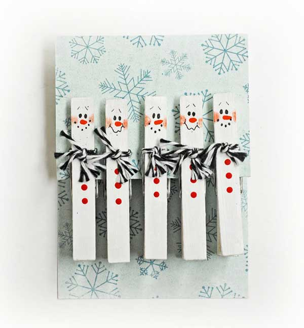 Delightful Clothespin Crafts Christmas Part - 1: ... DIYs-Can-Make-With-Clothespins-6