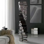 Double-Helix Structure Bookshelf
